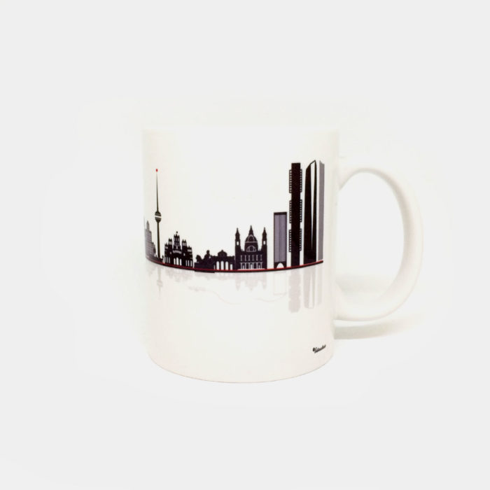 "Taza ""Skyline Madrid"""