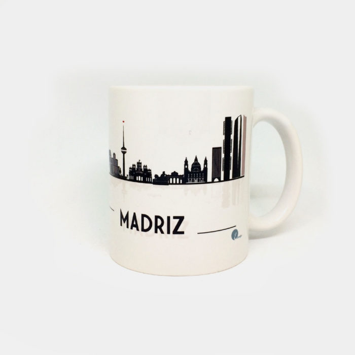 "Taza ""Vistas Skyline Madrid"""